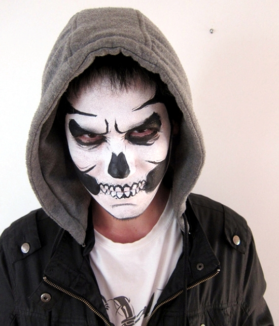 35 Halloween make up ideas for men and women from the past - Quick Halloween Makeup Ideas For Guys