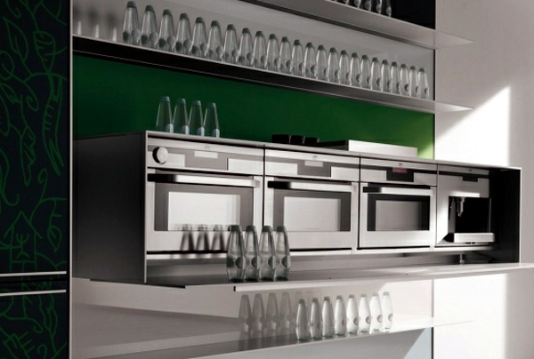 35 Modern Kitchens Design Ideas from Valcucine