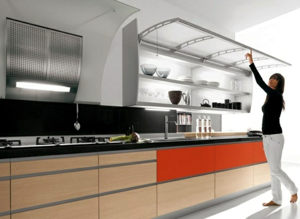 Ultra Modern Kitchen Design Custom Decorating