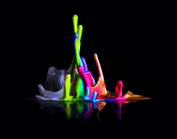 3d music visualization by color - the sound sculptures by Dentsu