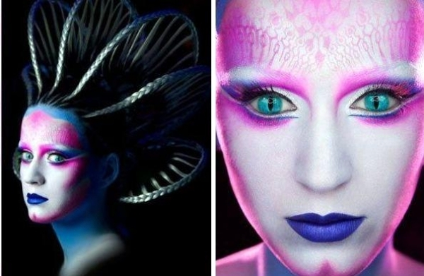 40 Ideas for Halloween Costumes and makeup inspired by ...