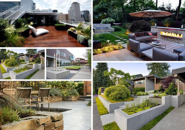 5 Basic Tips For Modern Garden Design At Home Interior Design Ideas Ofdesign