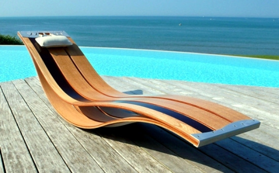 Discover These Models Long Ultra Modern Wooden Chair, And Get Inspired To  Create Your Garden. Whether At The Pool On The Deck Or In The Garden, ...