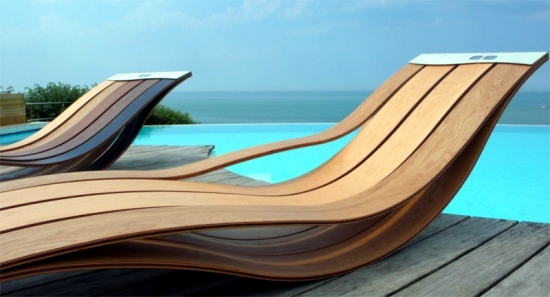 7 Ultra Modern Lounge Chair Designs Made Of Wood For Outdoor Use
