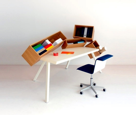 innovative ideas for desk design for the modern home office