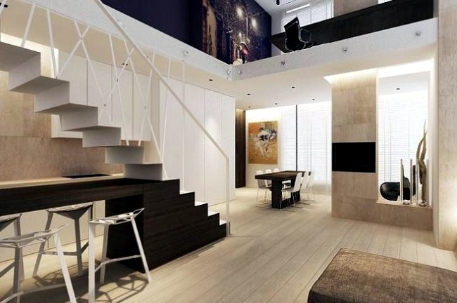 99 Modern Staircases Designs   Absolute Eye Catcher In The Living Area