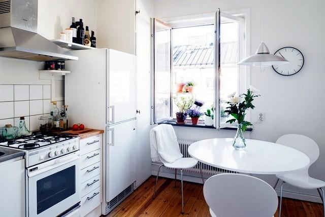 A bright apartment