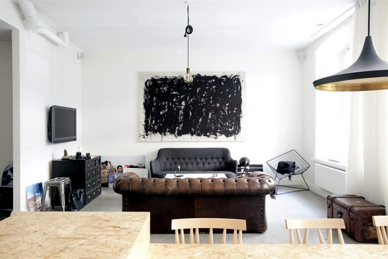 A Bright Apartment With Minimalist Decor Interior Design Ideas