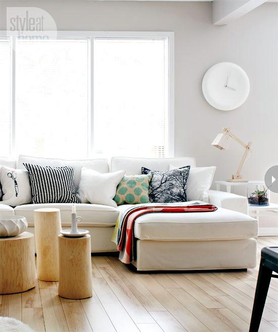 A bright interior