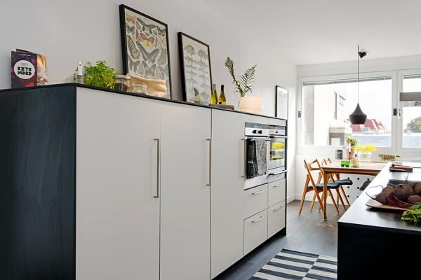 A completely renovated apartment