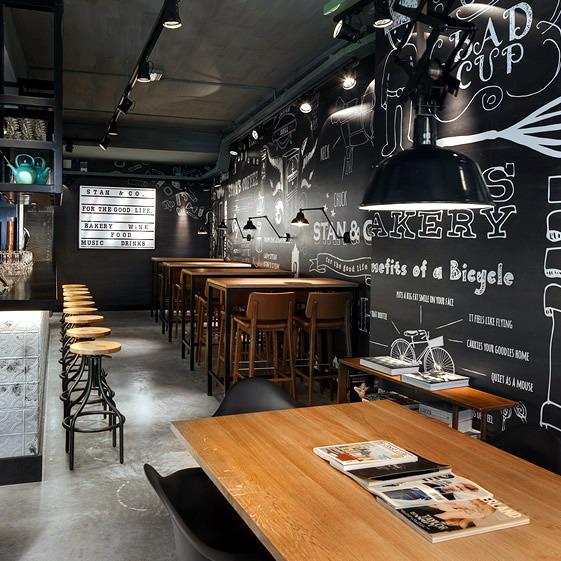 Deco restaurant industry