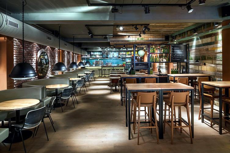 industrial deco restaurant