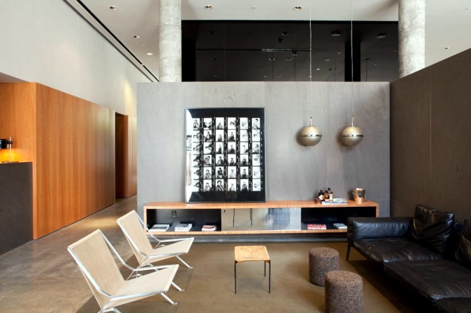 A design hotel in New York