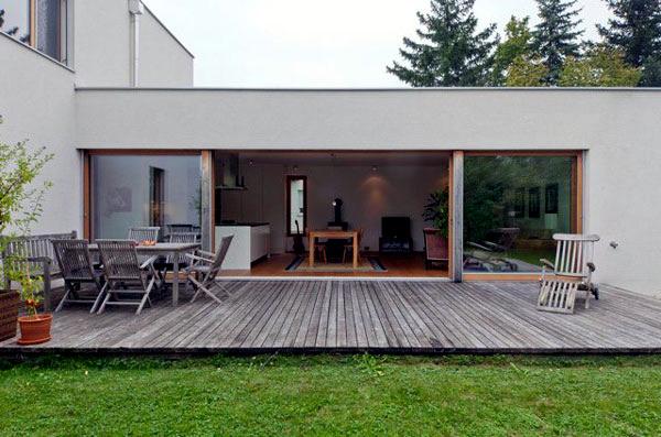 image interior rectangular house