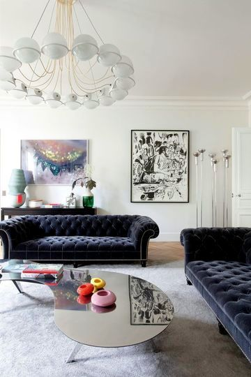 deco Parisian apartment