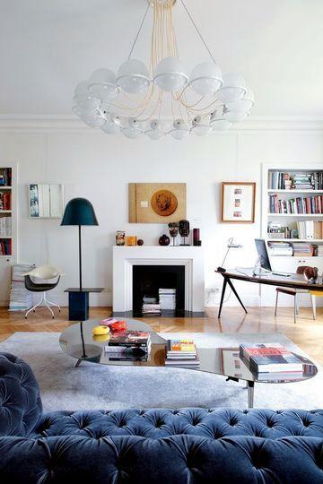 A female decoration for a Parisian apartment