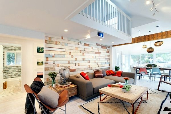 A fully renovated house