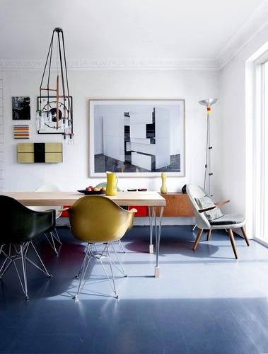 A hilltop apartment