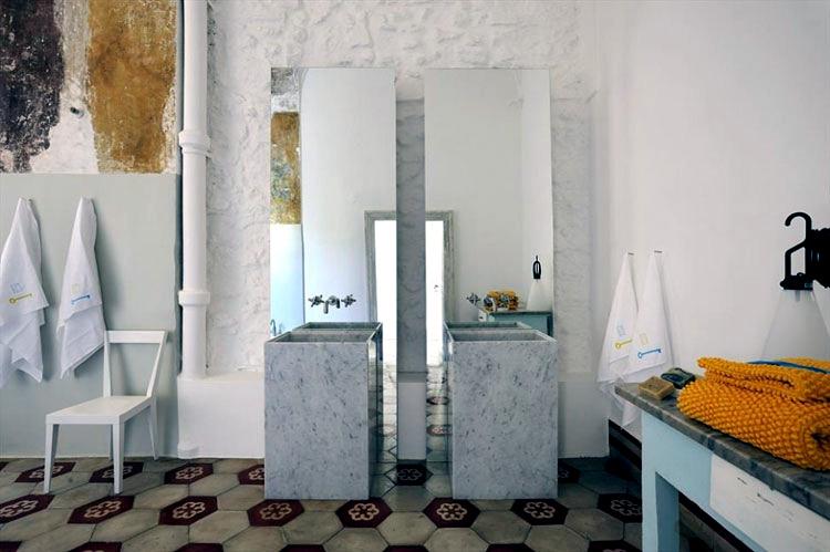 A hotel in Capri