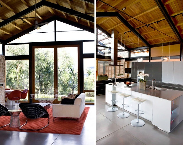 modern interior farm