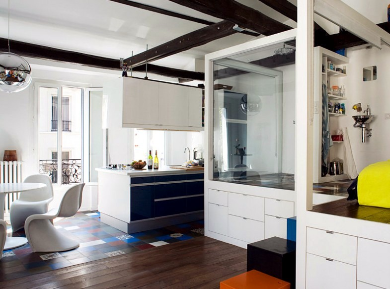 Raised kitchen