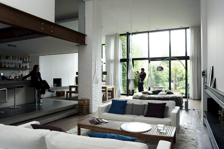 A loft house in Roubaix : Interior Design Ideas - Ofdesign