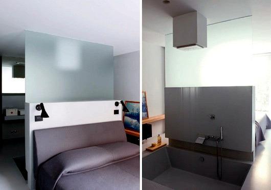 A loft in Milan