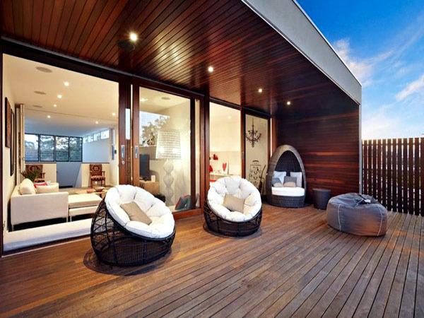 A luxurious villa