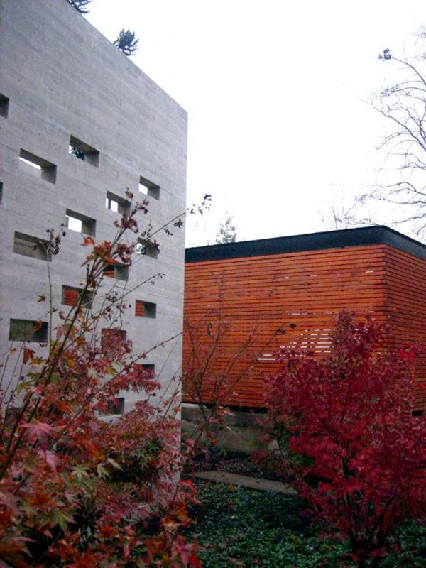 A modern house in Santiago