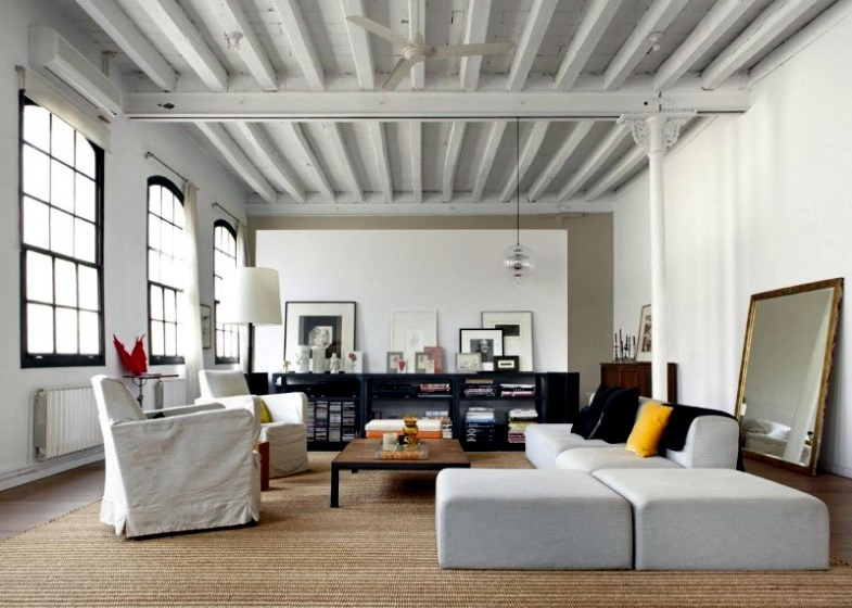 New york loft style interior design home decor for New york style home decor