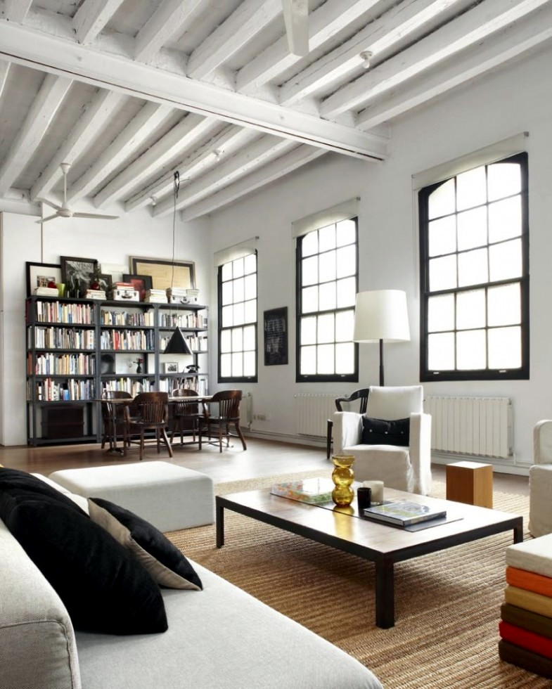 A New York loft in Barcelona