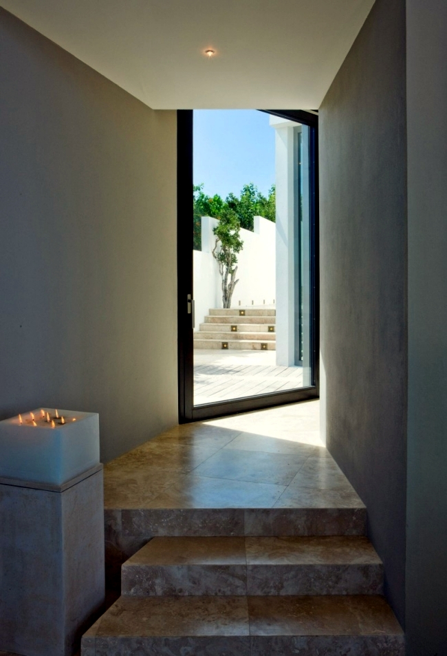 A private villa on Anguilla neutral colors and summer feelings