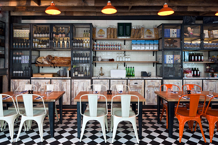 A Restaurant Industry Look Interior Design Ideas Ofdesign