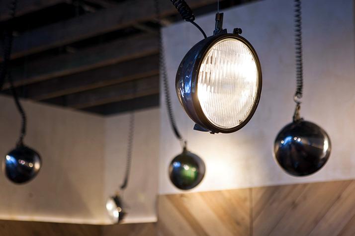 industrial loft restaurant