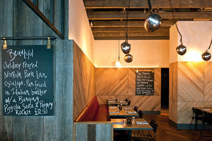 restaurants industrial design