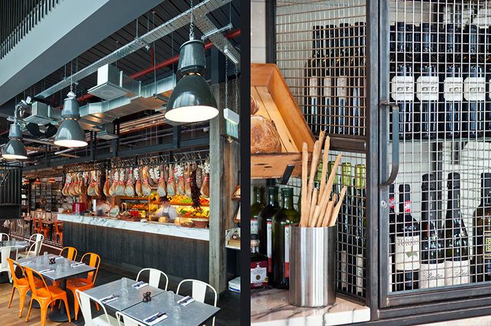 A restaurant industry look interior design ideas ofdesign - Cuisine industrielle loft ...