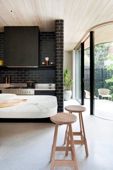 A sculptural house by Clare Cousins
