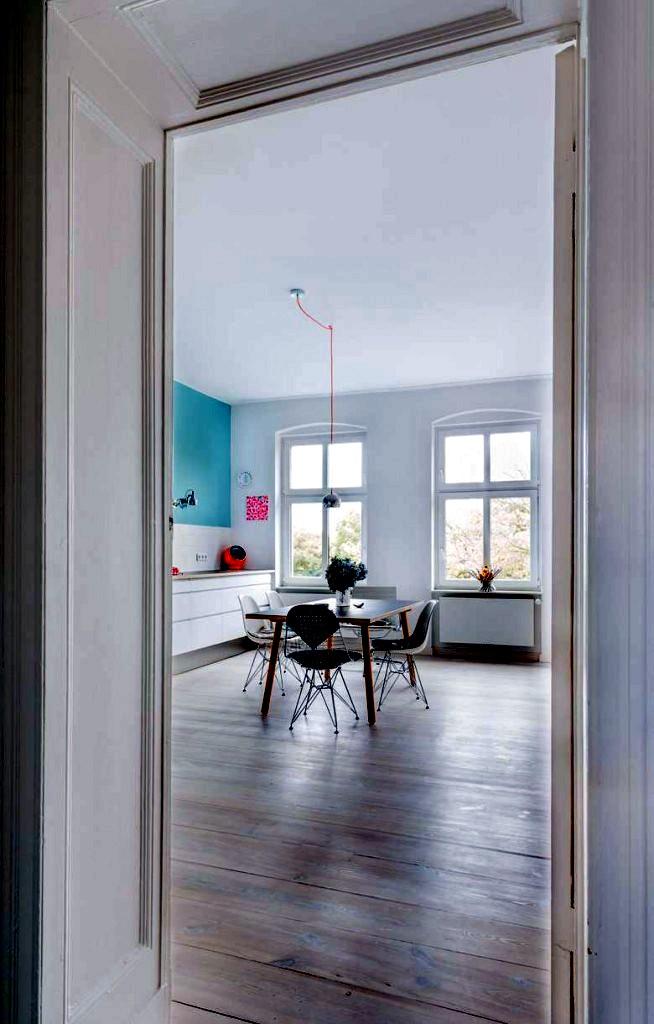 turquoise interior decoration