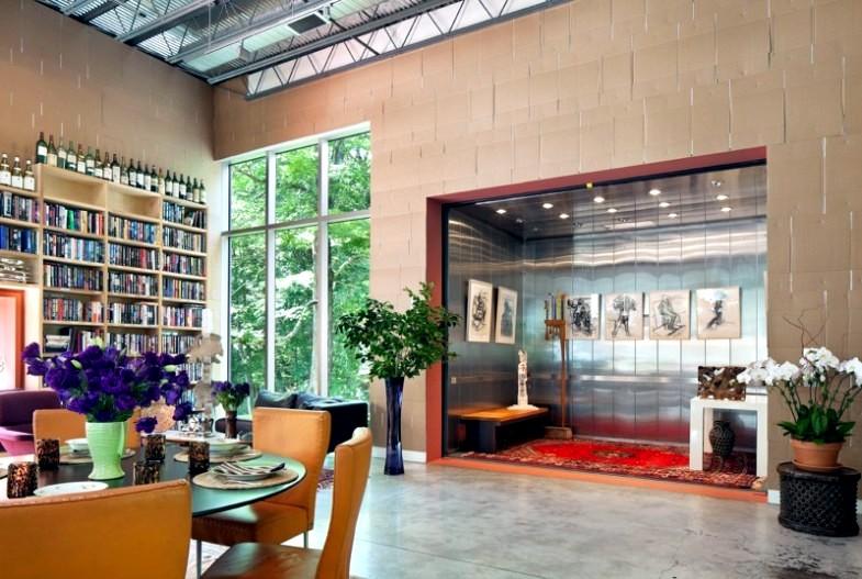 A warm contemporary home