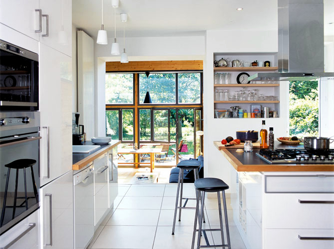 expansion wooden home cooking meuliere