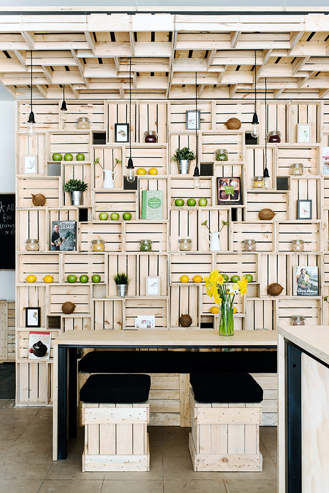 office with pallet