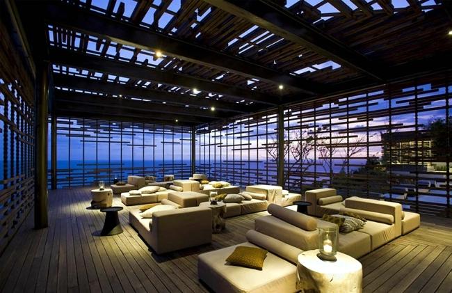 Alila Villas in Bali - Exotic furnishings designed by WOHA