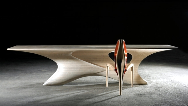 Amazing futuristic dining table design