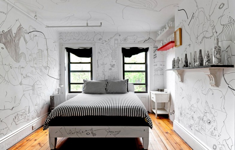 An animated by shantell martin inside interior design for How do you get into interior design
