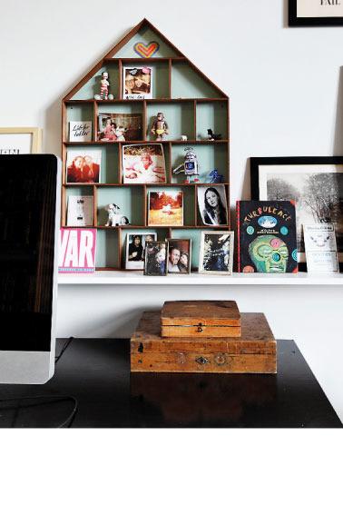 An artistic apartment