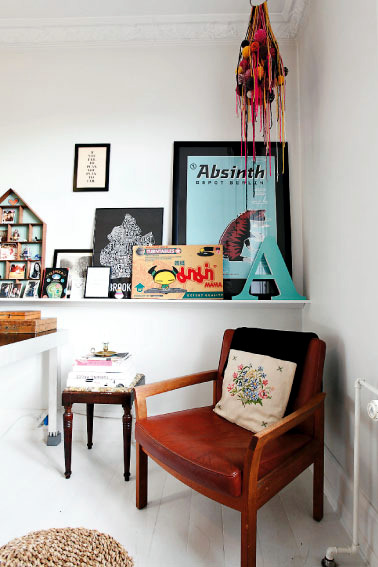 An artistic apartment