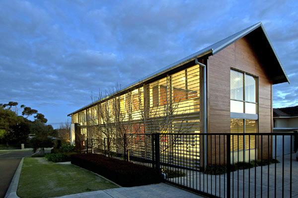 modern villa australia