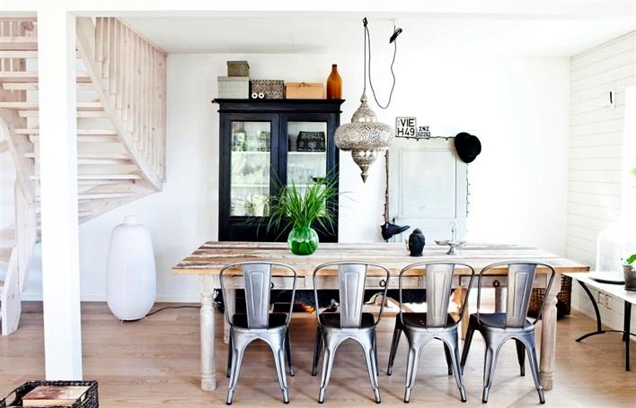 An interior full of simplicity