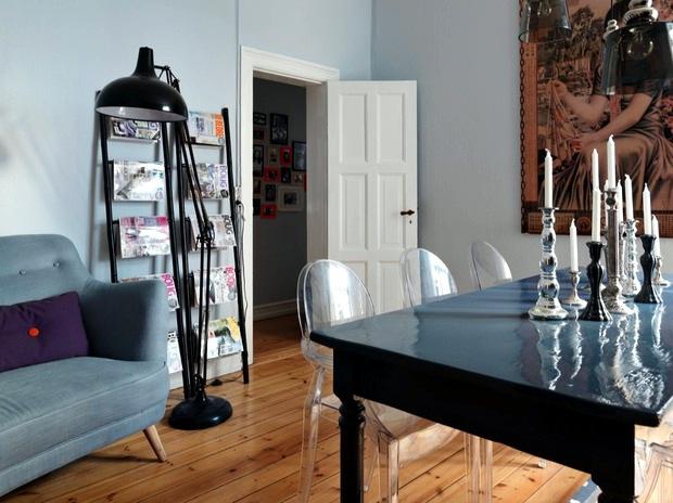 An interior that blends genres