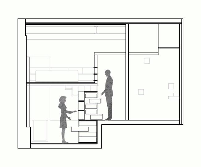 An old Reinigunsgeschäft transformed into a modern family